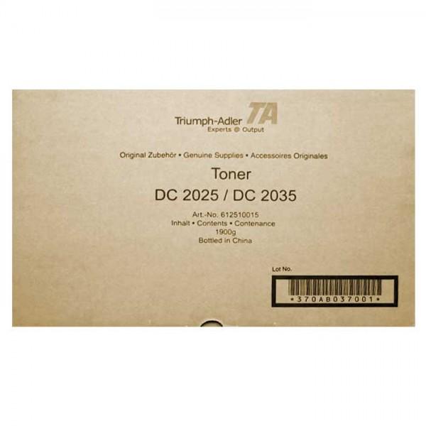 Original Utax Toner 612510015 black - Neu & OVP