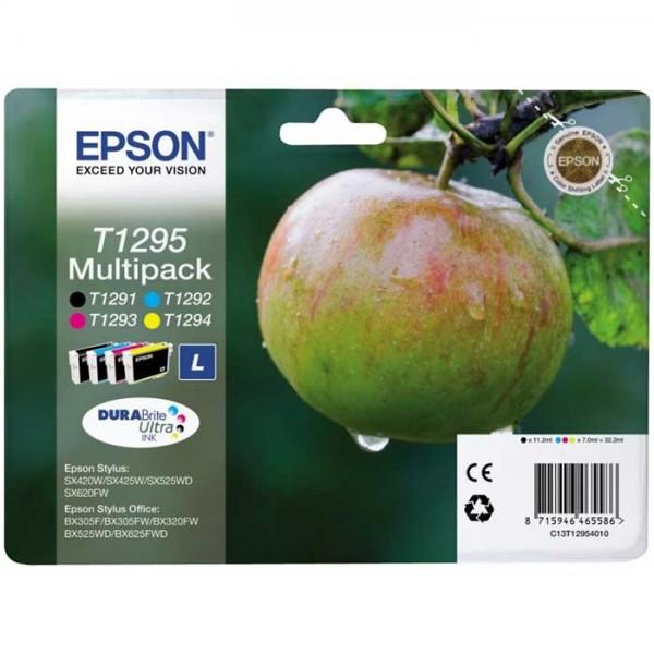 Original Epson T1295 Tinte Multipack C13T12954010 - Neu & OVP