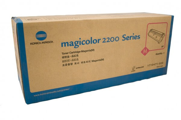 Original Konica Minolta Toner 1710471-003 magenta - C-Ware