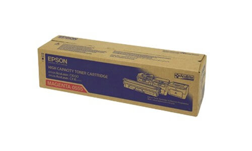 Original Epson AcuLaser Toner S050555 magenta - Neu & OVP