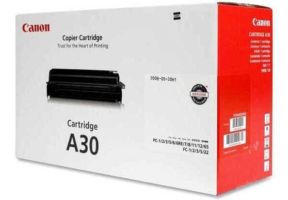 Original Canon Toner A30 1474A003 black - Neu & OVP