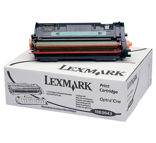 Original Lexmark Toner 10E0043 black - Neu & OVP