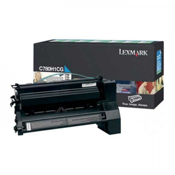 Original Lexmark Toner C780H1CG cyan- Neu & OVP!