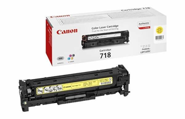 Canon 718 Toner 2659B002 yellow - C-Ware