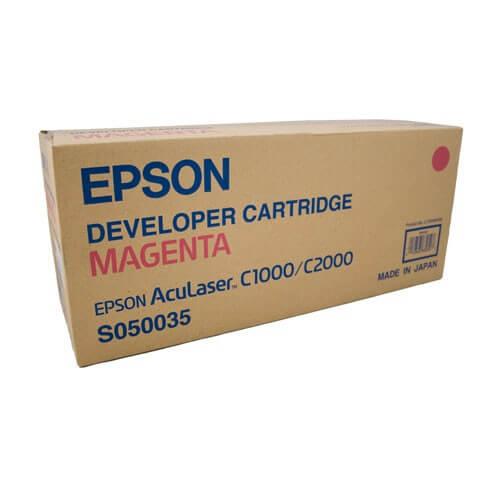 Original Epson AcuLaser Toner S050035 magenta - reduziert