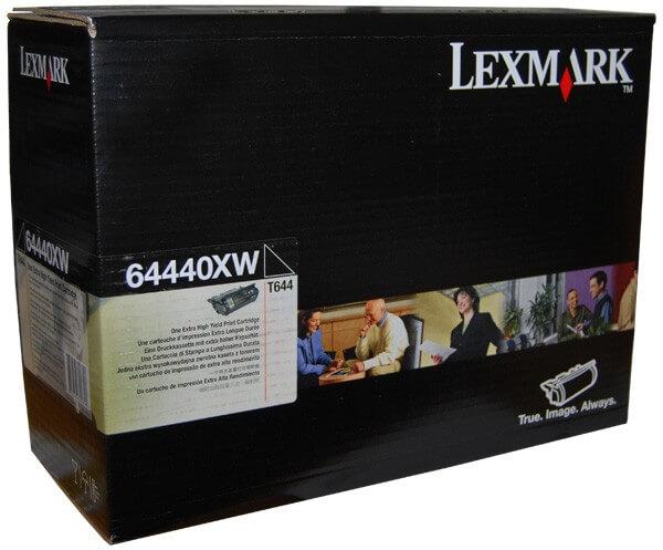 Original Lexmark Toner 64440XW black - Neu & OVP