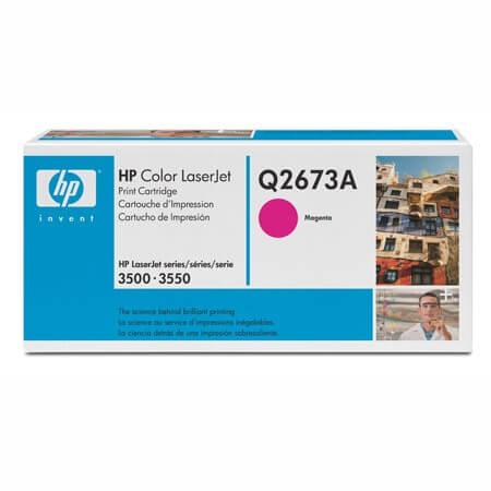 HP Color Laserjet Toner Q2673A magenta