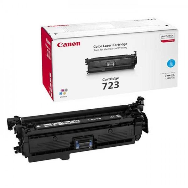 Original Canon 723 Toner 2643B011 cyan - reduziert