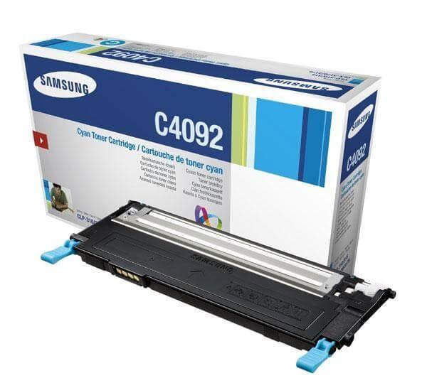 Original Samsung Toner CLT-C4092S cyan - Neu & OVP