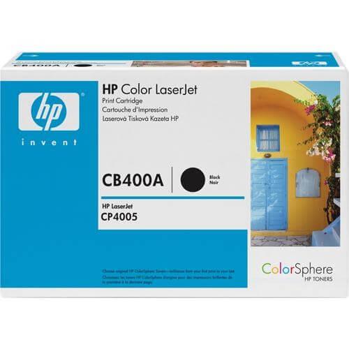 HP Color Laserjet Toner CB400A black - reduziert
