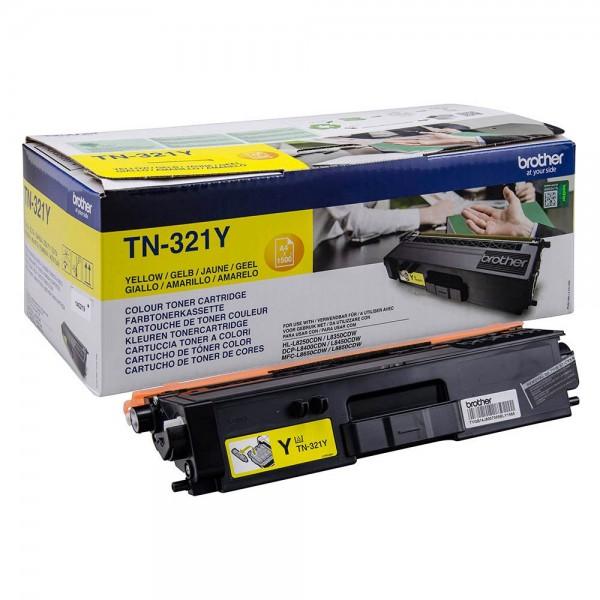Original Brother Toner TN-321Y yellow - C-Ware