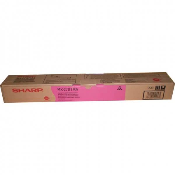Original Sharp Toner MX-27GTMA magenta - reduziert