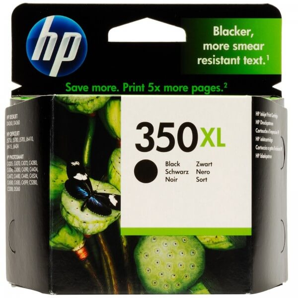 HP 350XL Tinte CB336EE black