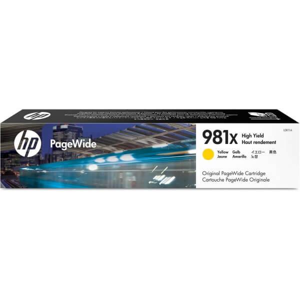 HP Tinte 981X L0R11A yellow