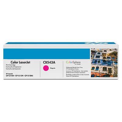 HP Color Laserjet Toner CB543A magenta - reduziert