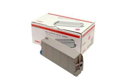 OKI Type C4 Toner 41963006 magenta - reduziert