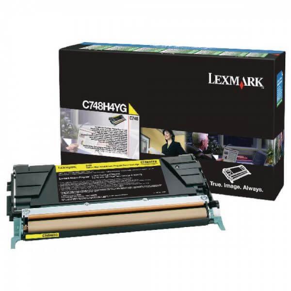 Lexmark Toner C748H3YG yellow