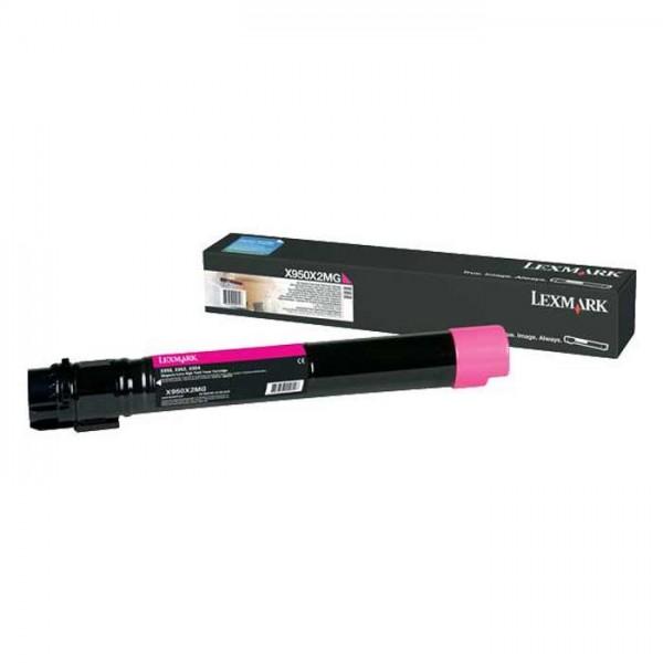 Lexmark Toner X950X2MG magenta