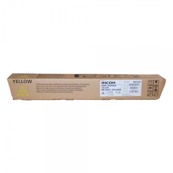 Ricoh MP C2800/C3300 Toner 841425 yellow